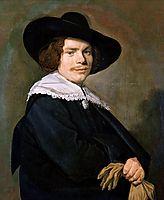 Portrait of a young man, c.1640, hals