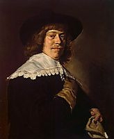 Portrait of a Young Man with a Glove , c.1640, hals