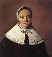 Portrait of a Young Woman , 1655, hals