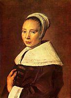 Portrait of a young woman, c.1660, hals