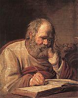 St. Luke, c.1625, hals