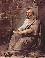 Aristoteles, 1811, hayez