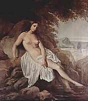 Badende, 1832, hayez