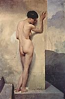 Female nude, 1859, hayez