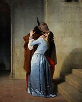 The Kiss, 1859, hayez