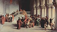 The liberation from the prison of Vettor Pisani, 1840, hayez