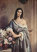 Melancholic Thoughts, 1842, hayez