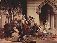 The new favorite (Harem scene), 1866, hayez