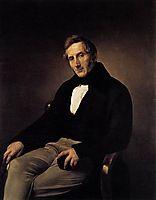 Portrait of Alessandro Manzoni, hayez