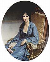Portrait of Antoniet Negroni Prati Morosini, 1872, hayez