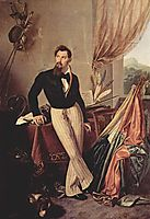 Portrait of Conte Baglioni, c.1860, hayez