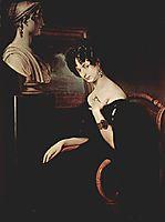 Portrait of Cristina di Belgiojoso Trivulzio, 1832, hayez
