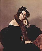 Portrait of Felicina Caglio Perego di Cremnago, 1842, hayez