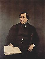 Portrait of Gioacchino Rossini, 1870, hayez