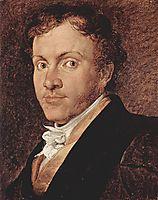 Portrait of Giuseppe Roberti, 1819, hayez