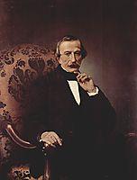 Portrait of Massimo d-Azeglio, 1860, hayez