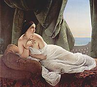 Reclining odalisque, 1839, hayez