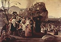 The Refugees of Parga, 1831, hayez