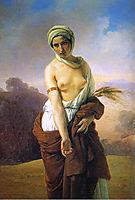 Ruth, 1835, hayez