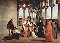 The Two Foscari: Francesco Foscari, Doge of Venice and his family, hayez