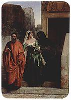 Venetian women, 1853, hayez