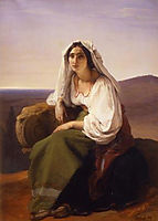 Woman from Ciociaria, hayez