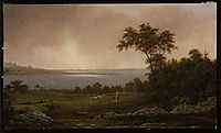 Rhode Island Landscape, 1859, heade