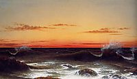 Seascape: Sunset, heade