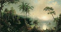 Sunrise in Nicaragua, 1869, heade