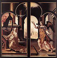 Annunciation, 1546, heemskerck