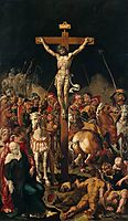 Calvary, central panel of a triptych, c.1547, heemskerck