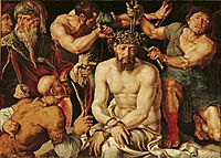 Christ crowned with thorns, c.1550, heemskerck