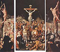 Crucifixion (Triptych), c.1547, heemskerck