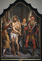 Ecce Homo - central panel, 1560, heemskerck