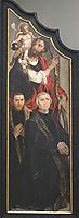 Ecce Homo - left panel, 1560, heemskerck