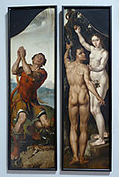 Gideon / Adam and Eve, c.1550, heemskerck