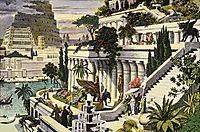 Hanging Gardens of Babylon, heemskerck