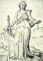 Iustitia, heemskerck