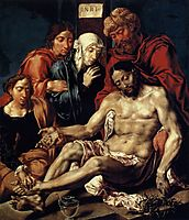 Lamentation of Christ, c.1543, heemskerck