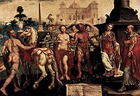 Momus Criticizes the Gods Creations, 1561, heemskerck