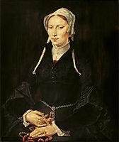 Painting of the nun Hillegond Gerritsdr, heemskerck
