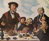 Pieter Jan Foppeszoon and his Family, 1530, heemskerck