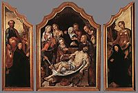 Triptych of the Entombment, c.1560, heemskerck