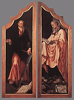 Triptych of the Entombment (closed), c.1559, heemskerck