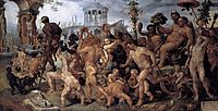 The Triumphal Procession of Bacchus, c.1536, heemskerck