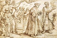 The Unhappy Lot of the Rich, 1560, heemskerck