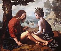 Allegorical Scene, 1550, hemessen