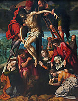 The Descent from the Cross, hemessen