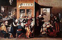A Merry Company, c.1540, hemessen