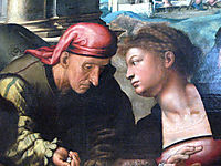 Parable of the Prodigal Son (detail), hemessen